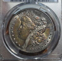 1904-S PCGS MORGAN SILVER DOLLAR COIN WITH BRILLIANT AU DETAILS & SHIPS FREE