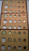 1955 P D S 33 COIN UNCIRCULATED MINT SETS SILVER FRANKLIN HA