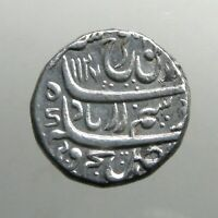 MUGHAL SILVER RUPEE___INDIA EMPIRE__FOUNDED BY MONGOL DESCEN
