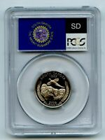 2006 S 25C CLAD SOUTH DAKOTA QUARTER PCGS PR70DCAM