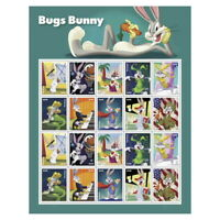 NEW USPS BUGS BUNNY PANE OF 20