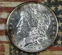 1900 MORGAN SILVER DOLLAR. COLLECTOR COIN FOR COLLECTION OR SET.