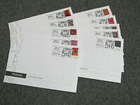 SET OF 10 QUILTS OF GEE'S BEND 2006 FIRST DAY COVERS CEREMON