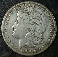1894 S MORGAN SILVER DOLLAR  CIRCULATED  GREAT FOR SETS 245