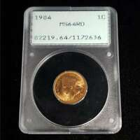 1904 INDIAN HEAD PENNY 1C CENT PCGS MS64RD OLD GREEN HOLDER