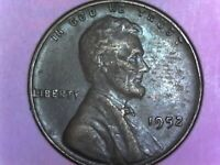1952 PENNY  WITH 3 CUDS ON REVERSE
