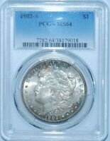 1902 S PCGS MINT STATE 64 MORGAN SILVER DOLLAR