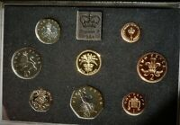 1984 ROYAL MINT GB  EXCELLENT 8 X COIN PROOF SET