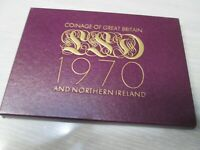 1970 GREAT BRITAIN AND NORTHERN IRELAND PROOF COINAGE SET
