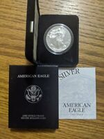 1999 PROOF AMERICAN SILVER EAGLE 1 OZ .999 FINE SILVER OFFICIAL GOV'T PACKAGING