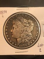 1879 S REV 78 MORGAN SILVER DOLLAR  TOP 100 LOT 2 REVERSE OF 1878