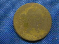 1807 DRAPED BUST COPPER LARGE CENT COIN