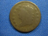 1814 CLASSIC HEAD LARGE CENT ONE CENT COIN