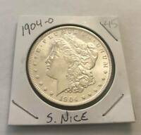 SUPER  1904-O SILVER US MORGAN DOLLAR GREAT COIN