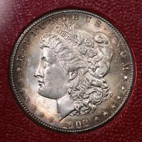 1902-S MORGAN $1 FROM THE REDFIELD SILVER DOLLAR HOARD