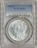 1904 O MORGAN $1 PCGS MINT STATE 64