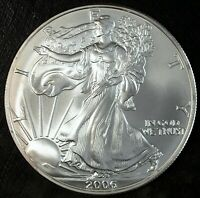 2006 AMERICAN SILVER EAGLE 1 OUNCE .999 FINE BRILLIANT UNCIRCULATED  433