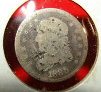 1835 CAPPED BUST HALF DIME-UNCERTIFIED-SEE PHOTOS