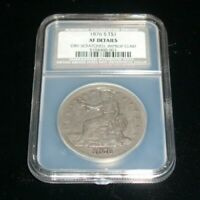 1876 S $1 SILVER TRADE DOLLAR SAN FRANCISCO MINT. GRADED BY NCS XF DETAILS