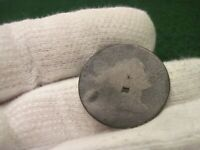 1795 1796 LIBERTY CAP LARGE CENT COUNTER STAMPED R