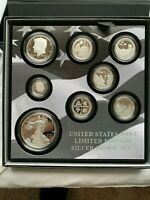 2019 LIMITED EDITION SILVER PROOF SET 1ST STRIKE ELIGBLE WIT