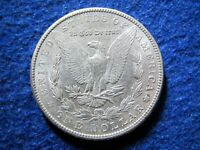 1900 MORGAN SILVER DOLLAR -   LIGHT TONED BRIGHT ABOUT UNCIRCULATED