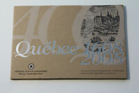 2008 CANADA QUEBEC CITY 400TH ANNIVERSARY COLLECTOR CARD AND