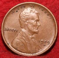 1909 S SAN FRANCISCO MINT COPPER LINCOLN WHEAT CENT