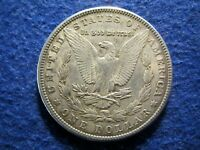 1900 MORGAN SILVER DOLLAR - LUSTROUS, LIGHT TONED EXTRA FINE
