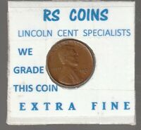 1937S  LINCOLN  CENT   TOUGH TO GET HI GRADE  EXTRA FINE  LOT 111809
