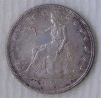 1877 S TRADE SILVER DOLLAR UNCIRCULATED GREAT COIN