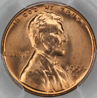 1954-S PCGS MINT STATE 66RD LINCOLN CENT
