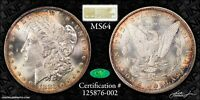1883-O MORGAN DOLLAR NGC MINT STATE 64 CAC GEN 3 OLD FATTY HOLDER