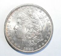 1883-O MORGAN SILVER DOLLAR, UNCIRCULATED
