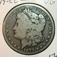 1879-CC  VG  MORGAN SILVER DOLLAR