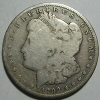 1893-O MORGAN DOLLAR, LOW MINTAGE 300K, CLEANED, SHIPS FREE