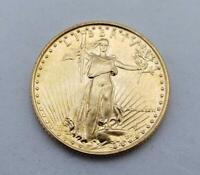 1986 US 1/10TH OZT BU   GOLD EAGLE $5 COIN BETTER DATE L9005