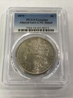 1879 $1 PCGS GENUINE UNC DETAIL - ALTERED SURFACE
