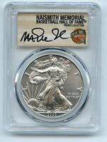 2020  P  $1 SILVER EAGLE EMERGENCY ISSUE PCGS MS70 MAGIC JOH
