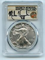 2020  P  $1 SILVER EAGLE EMERGENCY ISSUE PCGS MS70 COACH K M