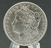 1897 MORGAN SILVER DOLLAR 90 SILVER UNCIRCULATED  EYE APPEAL