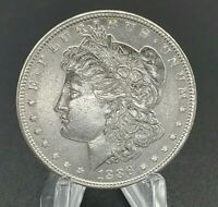 1886 MORGAN SILVER DOLLAR 90 SILVER US COIN UNCIRCULATED GREAT EYE APPEAL 1