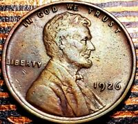 1926 LINCOLN WHEAT CENT CENT-