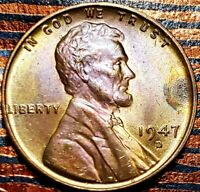 1957 D LINCOLN WHEAT CENT CENT-
