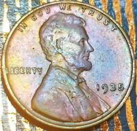 LINCOLN WHEAT CENT PENNY 1935