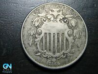 1866 SHIELD NICKEL  --  MAKE US AN OFFER  B9738