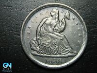 1838 P SEATED LIBERTY HALF DIME --  MAKE US AN OFFER  B9798