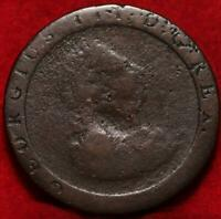 1797 GREAT BRITAIN ONE PENNY FOREIGN COIN