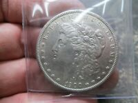 1900 S US MORGAN SILVER DOLLAR IN EXTRA FINE  ABOUT UNCIRCULATIVE CONDITION