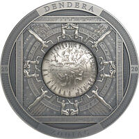 COOK ISLANDS 2020 20$ DENDERA ZODIAC EGYPT   ARCHEOLOGY & SY